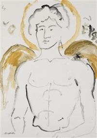 étude de nu by yannis tsarouchis