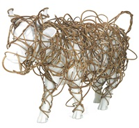 gallop! rattan-cow by wang wen-chih