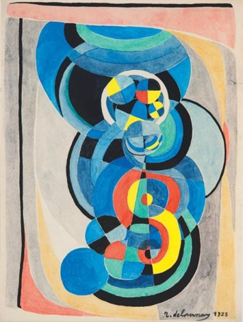 les fenêtres (album w/1 work and text by guillaume apollinaire, quarto) by robert delaunay