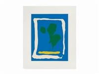 air frame (from new york ten) by helen frankenthaler