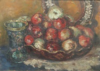 still life with apples by nicola i. alexandrescu