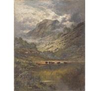 loch etive argyllshire by henry decon hillier