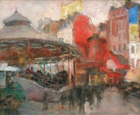 moulin rouge by georges guido filiberti