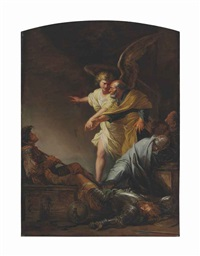 the liberation of saint peter by salvator rosa