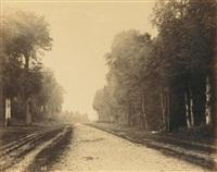chailly, route de fontainebleau by eugène cuvelier