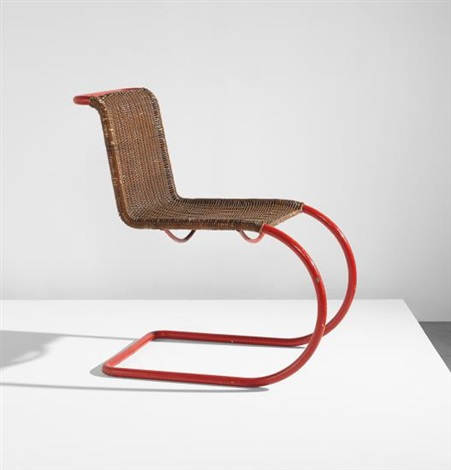 Early Side Chair, Model No. Mr 10 By Ludwig Mies Van Der Rohe