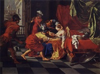 the death of lucretia by bertholet i flemal