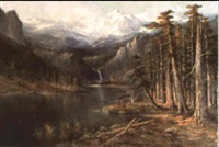 cascade lake by hugh antoine fischer