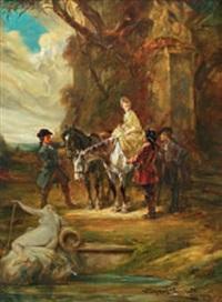 la rencontre by leonhard wilhelm lehmann