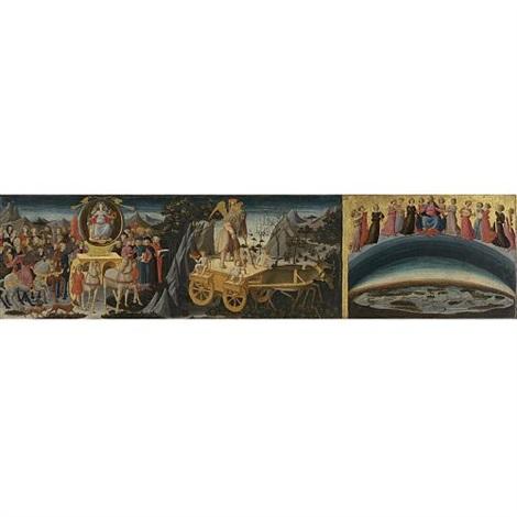 the triumph of fame the triumph of time and the triumph of eternity by domenico di michelino