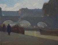 pont neuf by xavier martinez