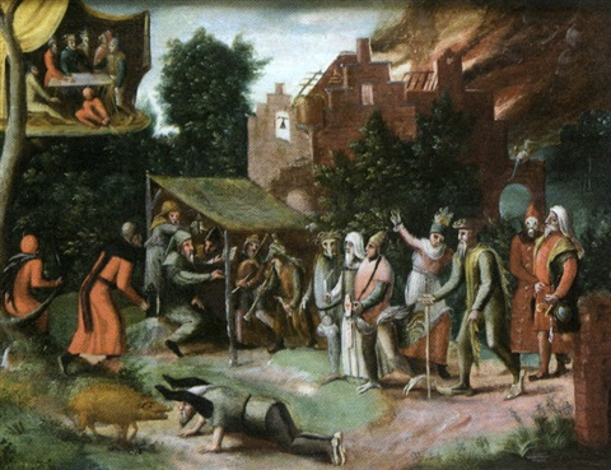 la tentation de saint antoine by jan mandijn