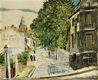 rue de l'abreuvoir, paris by lois mailou jones