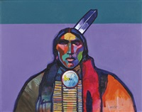 sioux chief gall by john nieto