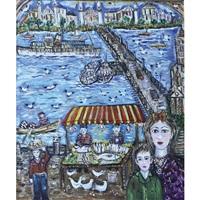 eminonu bridge (istanbul) by hatice kumbaraci gürsöz