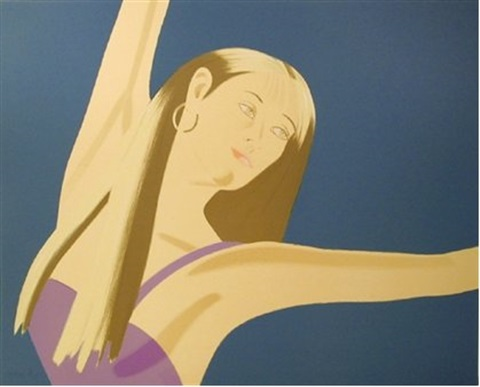 night william dunas dance set of 4 works by alex katz