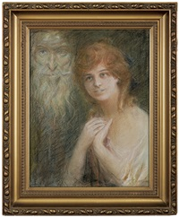 youth and old by teodor axentowicz