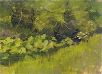 lily pads by theodore robinson
