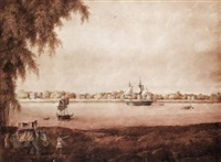 garden reach, calcutta by charles (sir) d'oyly