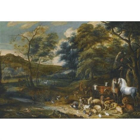 the garden of eden by isaac van oosten