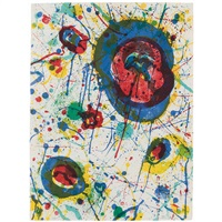 untitled (lembark l264) by sam francis