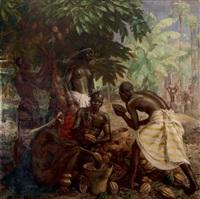 la récolte du cacao ou l'écabossage by charles ernest smets