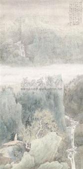 春山烟云图 by xu xinrong