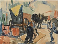 mule cart by selden connor gile