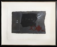 artwork 740 by antoni tàpies