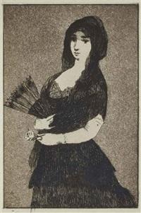 fleur exotique by édouard manet