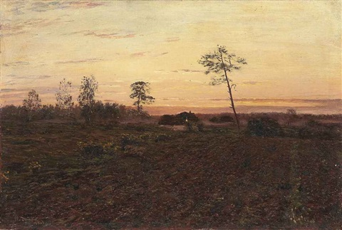 evening by nikolai nikanorovich dubovskoy