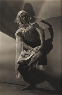 serge lifar, le fils prodigue (4 works) by george hoyningen-huene