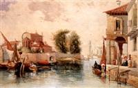 a venetian canal by thomas brabazon aylmer