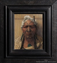 atama paparangi - a noble relic of a noble race by charles frederick goldie