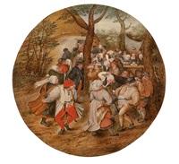 hochzeitstanz im freien by pieter brueghel the younger
