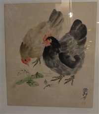 poules by liao xinxue