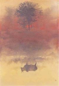 reflection in india by toshio tabuchi