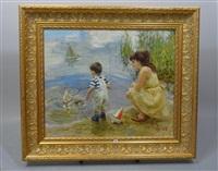 petit pêcheur by vladimir gusev