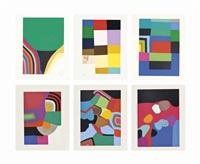 serie di sei : tav. 1-6 by alberto burri
