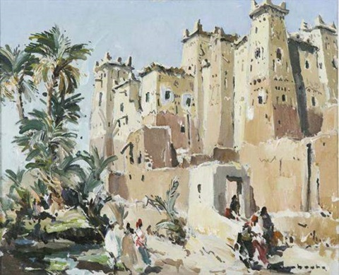 kasbah by paul jean anderbouhr