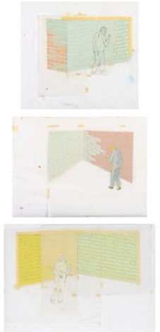untitled (before the prophet)(3 works) by francis alÿs