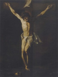 christus am kreuz by johannes nepomuk josef zanusi