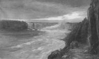 niagara horseshoe falls by j.t. reid