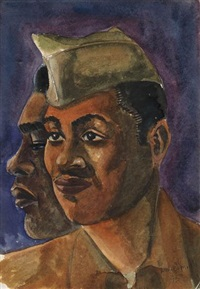 two soldiers (nostalgia) by william e. smith