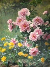 bosquet fleuri by louis marie lemaire