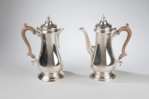 coffee and hot water pot 2 pieces by cj vander ltd