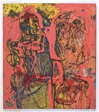 pareja en rosa by alejandro santiago