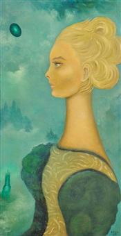retrato de claire by sofía bassi