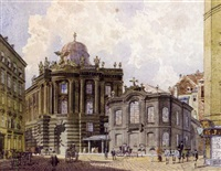altes burgtheater am michaelerplatz by robert raschka