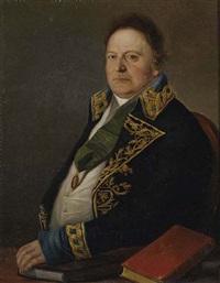 d. zacarias scherman, cónsul general del rey de suecia by antonio mercar